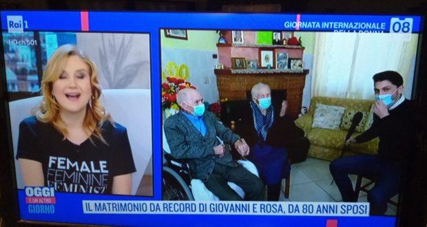 Valerio Scarponi in casa di Rosa e Angelo