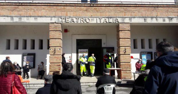 Vaccinazioni alla Sala Italia