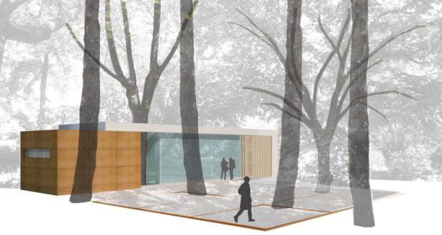 Il progetto per il nuovo chiosco ai Giardini