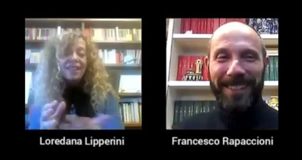 Loredana Lipperini e Francesco Rapaccioni