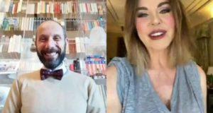Alba Parietti intervistata da Francesco Rapaccioni