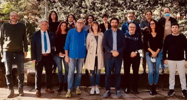 """Il primo a sinistra Emanuele Piunti di """"Movimondo"""""""