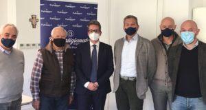 L'incontro con l'assessore regionale Baldelli
