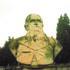 Il busto di Ettore Marcucci al cimitero di San Severino