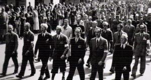 Il Comitato di Liberazione nazionale. Il secondo da destra è Enrico Mattei