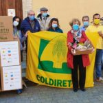 La donazione di Coldiretti