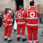 I volontari della Croce Rossa a San Domenico