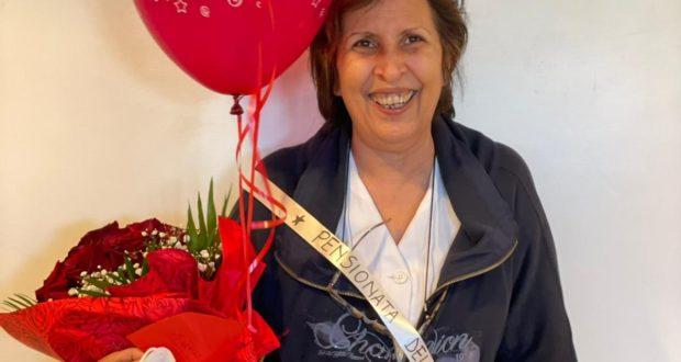 Iris Fornari è da oggi, 1° aprile, in pensione