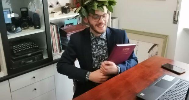 Il neodottore Giacomo Diamantini