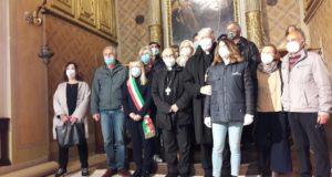 Il ritorno a San Rocco della tela del Pomarancio