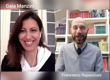 Gaia Manzini e Francesco Rapaccioni
