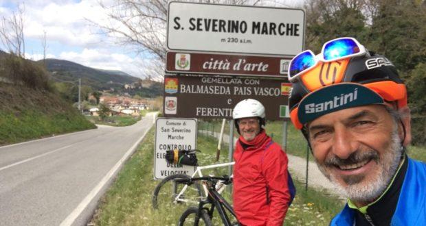 """""""A tutta ruota"""" passa per San Severino"""