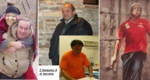 I quattro pensionati a Serralta