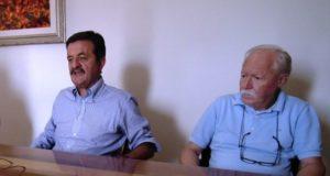 Tito Lucarelli con Cesare Martini