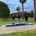 I nostri pattinatori sul podio di San Benedetto