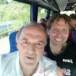 Fabrizio Castori e il suo vice Riccardo Bocchini