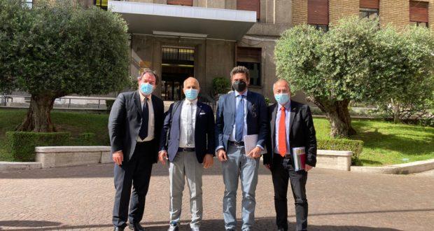 Vertice a Roma con Anas e Quadrilatero