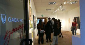 L'apertura della mostra