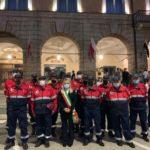 I volontari dell'Associazione nazionale Carabinieri in congedo