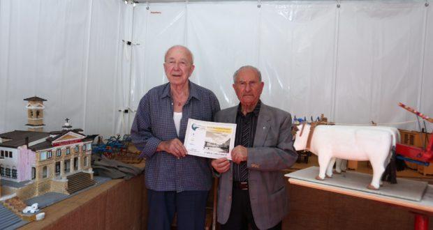 Enrico Cassandrini con Pierino Verbenesi
