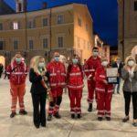 I volontari della Croce rossa italiana