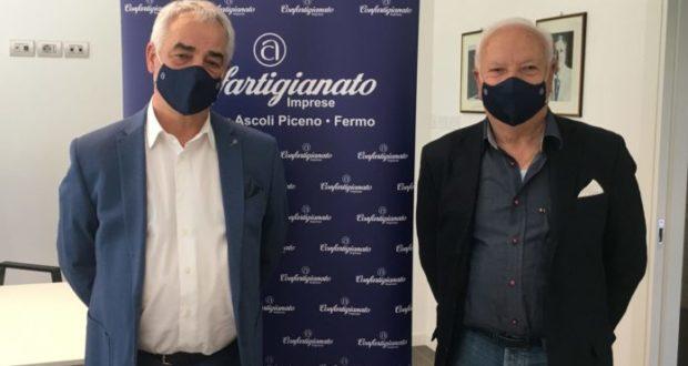 Enzo Mengoni e Renzo Leonori