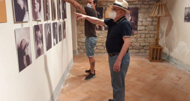 Riallestimento della mostra di Remo Scuriatti in pinacoteca