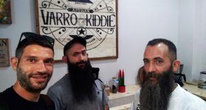 Luca e Mauro Paciaroni assieme a Lorenzo Paciaroni, autore dell'articolo