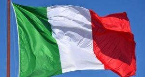 Il tricolore dell'Italia