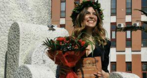 Francesca Feliziani, neodottoressa all'Università di Chieti