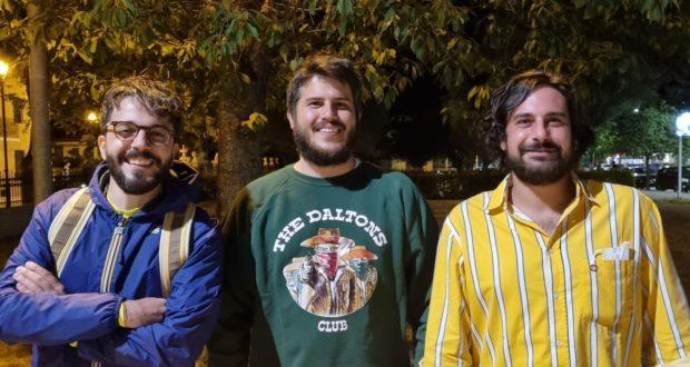 Da sinistra: David Dignani, Guido Pacella, Alessio Ancillani