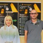 Il sindaco Rosa Piermattei e l'assessore Jacopo Orlandani