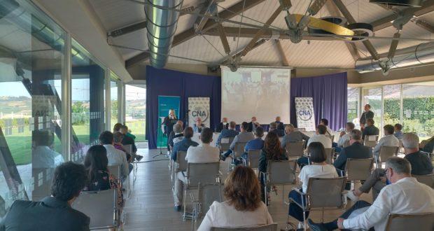 L'intervento del sindaco Rosa Piermattei all'assemblea della Cna