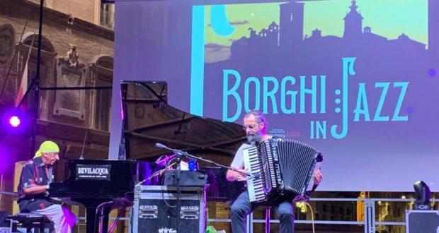 """Il duo di """"Borghi in Jazz"""""""