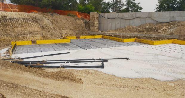 Iniziati i lavori di costruzione del corpo centrale della scuola