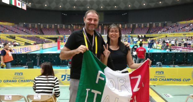 Roberto Taddei ai Mondiali in Cina
