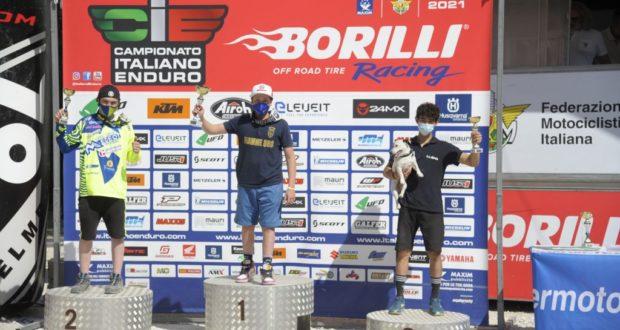Valentino Corsi sul gradino più alto del podio nella gara di Spoleto