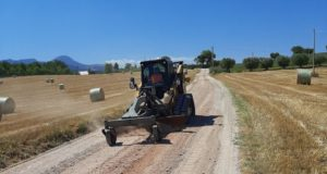 Terminati i lavori sulla strada Borgianelle - Gaglianvecchio