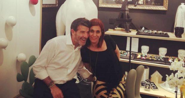Manuela Panzarani con il marito Stefano Bolotti