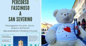 L'iniziativa della Pro loco con la mascotte Teddy Bear
