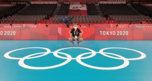Roberto Taddei e i cinque cerchi olimpici