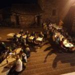 La cena in piazzetta