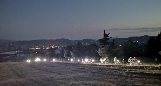 La pedalata in notturna