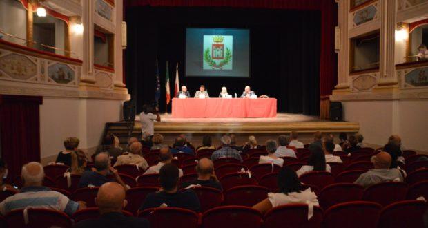 L'incontro al Feronia con Legnini e gli altri tecnici della ricostruzione