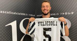 Felicioli torna all'Ascoli