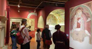 In Pinacoteca con la guida di Severino