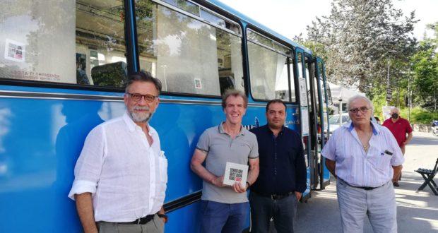 Il bus di Contram a Visso