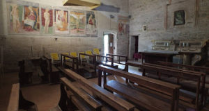 La chiesa della Maestà a Parolito