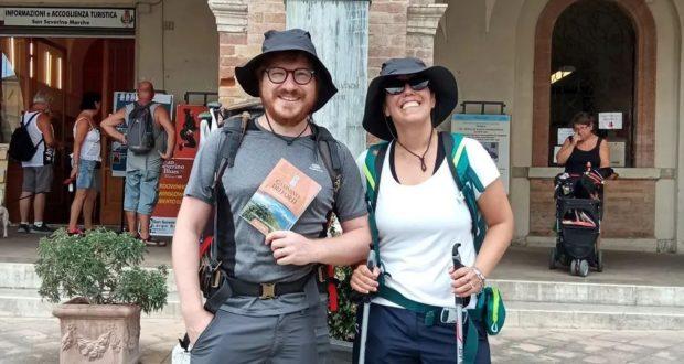 Alessandro Paciaroni e Giulia Pacella