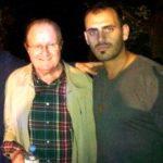 Lucas con Jimmy Fontana